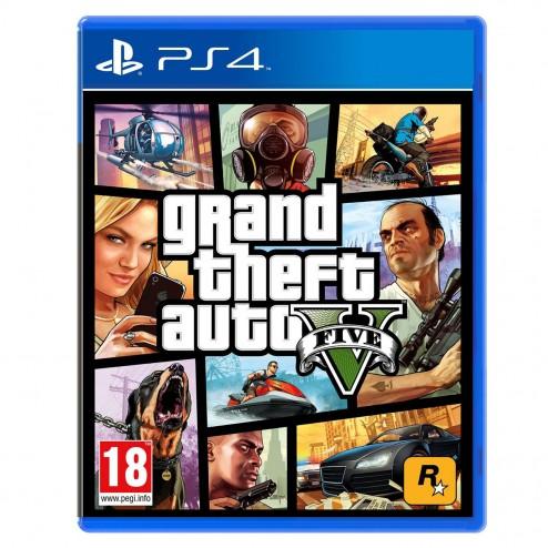 Grand Theft Auto V - GTA 5 (PS4)