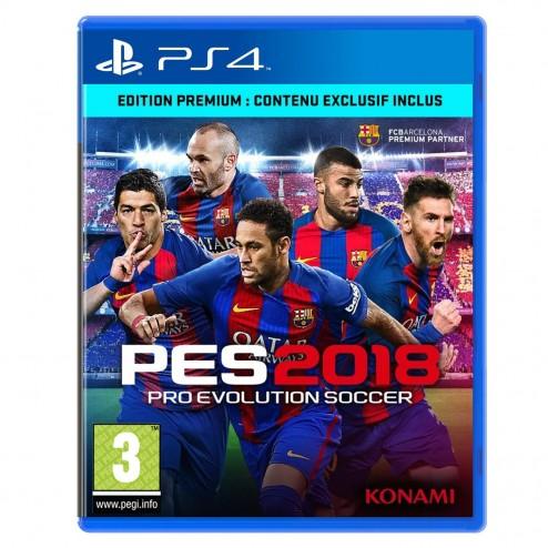 PES 2018 (PS4)