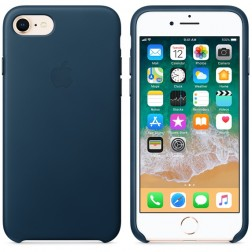 Apple Coque en Cuir iPhone 8 / 7 (Authentique)
