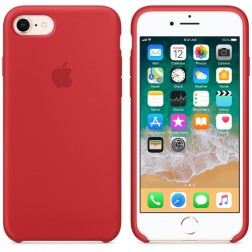 Apple Coque en silicone iPhone 8 / 7 (Authentique)