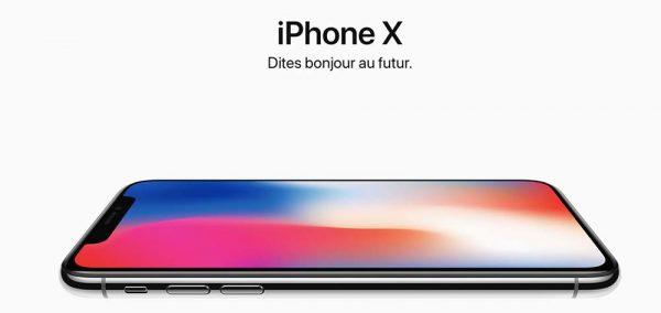 iPhone X derbghallef
